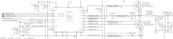 脚,这是一个典型的内存供电芯片,它会输出