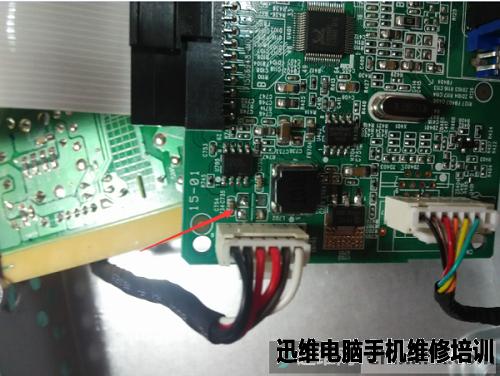 飞利浦philips液晶显示器维修一例